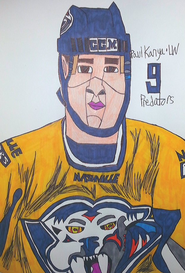 Paul Kariya by armattock